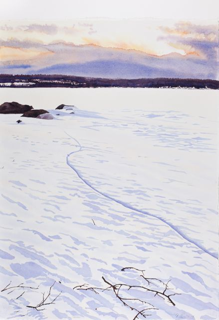 Isspricka, 56 x 76 cm