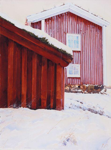 Frost 2, 56 x 76 cm